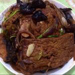 饼饼的西瓜茜红烧豆腐的做法