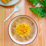度娘菜园和厨房猪肝菠菜粥#美的AH原生态煲#的做法