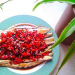 度娘菜园和厨房微波手撕茄子的做法