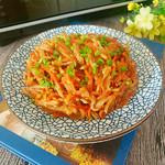 度娘菜园和厨房炝拌双丝的做法
