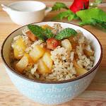 度娘菜园和厨房土豆腊肠饭的做法