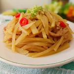 度娘菜园和厨房凉拌土豆丝的做法