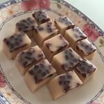 紫绫云椰汁红豆糕的做法