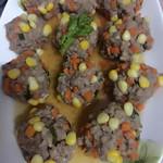 鐘巧琪玉米蔬菜肉丸的做法