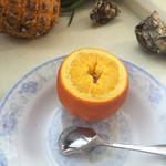琳者队才盐蒸橙子的做法