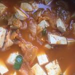 Sally依米韩式辣白菜豆腐汤的做法