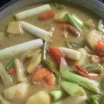 anankitchen咖喱虾的做法