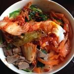 杨英(来自腾讯.)韩国拌饭的做法