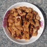 爱强木瓜红烧豆腐的做法