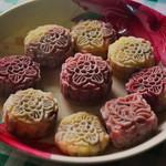 糯糯的糯米丸子冰皮月饼的做法