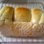 甜盐蜜语牛奶土司的做法