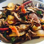 何佳jia干锅茶树菇的做法