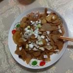 一羽天空酸辣土豆片的做法