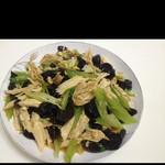 然然小厨凉拌腐竹的做法