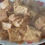 甜-甜红烧豆腐的做法