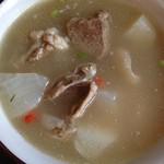 ℡.纯白豆浆.冬瓜汤的做法