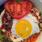 小太阳☀️(来自微信...)韩国拌饭的做法