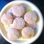 绿芥こ怡然(来自腾讯.)冰皮月饼的做法