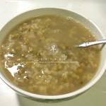 一颗石榴绿豆汤的做法