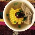 xiaoxue同学山药玉米排骨汤的做法