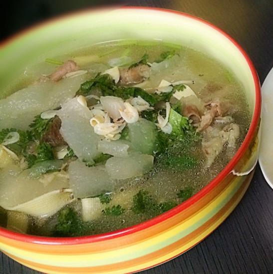 慢慢﹏琳在美食杰做过-冬瓜羊肉汤