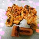 Danae(来自腾讯....)烤鸡腿的做法