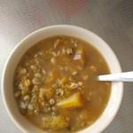 羊羊厨房绿豆南瓜粥的做法