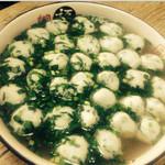 泡菜1053鱼丸汤的做法