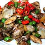 杰米4522320辣炒花蛤的做法