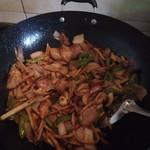 姚丑丑干锅茶树菇的做法