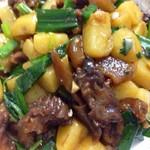 雨田、土豆焖牛腩的做法