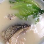 伴我老 @(来自腾讯.)鱼头豆腐汤的做法