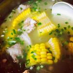 水阿姨山药玉米排骨汤的做法