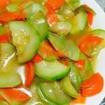 杰米4406165831蒲子炒胡萝卜的做法