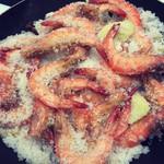 杰米4797696151意式盐焗大虾的做法