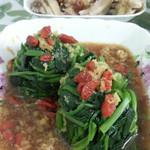 sophia123456姜汁菠菜塔的做法