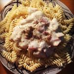 哎木哎木萌萌嗒~奶油蘑菇意大利面的做法