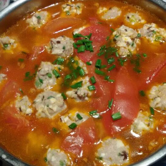 番茄丸子汤_在美食杰做过-番茄丸子汤