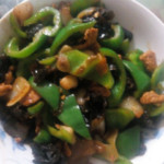 朋朋(来自微信...)青椒炒肉片的做法