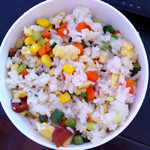 小小吃货ying糯米饭的做法