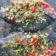 时蔬烤鱼的做法[图]