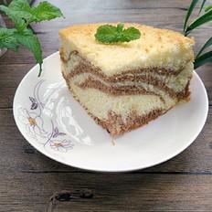 斑马戚风蛋糕