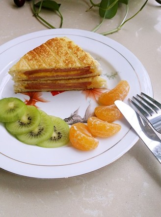 法式三明治的做法