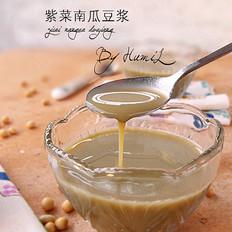 紫菜南瓜豆浆(养生)
