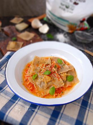 口蘑扇贝意大利饺的做法