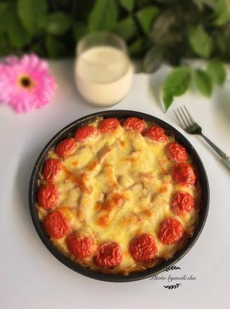 土豆丝培根披萨的做法