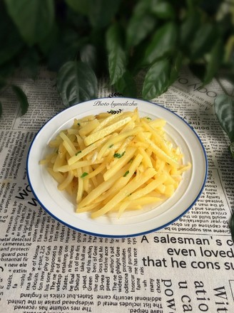清炒土豆的做法