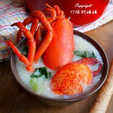 加拿大龙虾菠菜粥