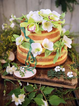 森系鲜花裸蛋糕的做法