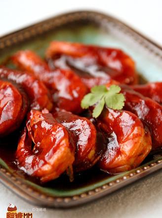 红焖大虾的做法